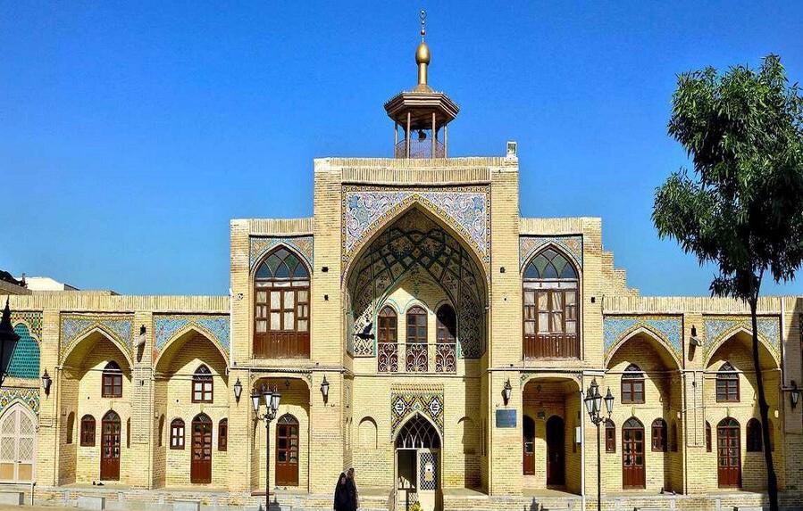مسجد عمادالدوله معماری دوران قاجار در کرمانشاه!