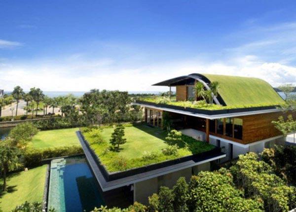پروژه های معماری سبز