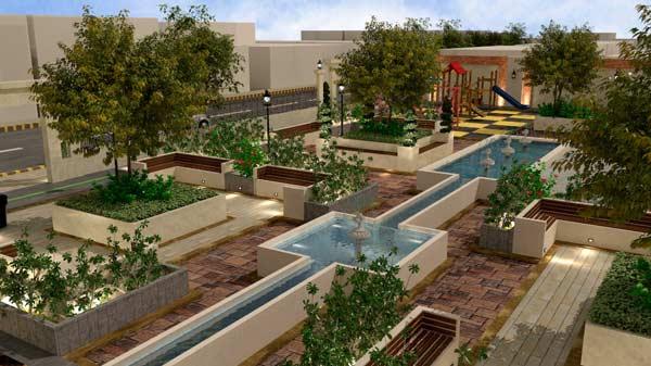 طراحی محوطه و فضای سبز