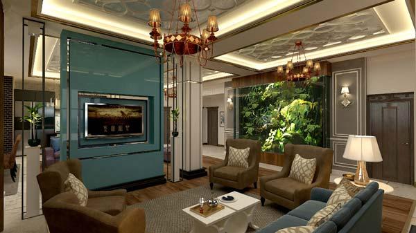 طراح و مجری دیواره های سبز