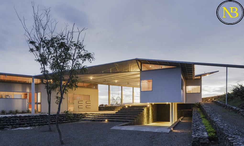 طراحی خانه پرنده نقره ای در جنگلهای کاستاریکا