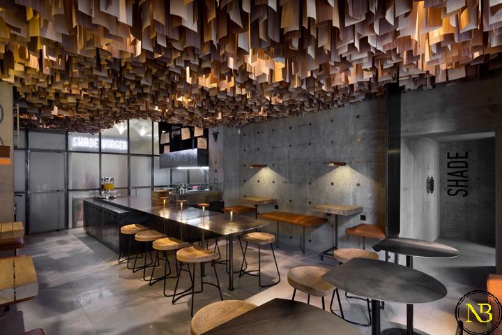 رستوران با طراحی بتن و چوب | طراحی رستوران | معماری و طراحی داخلی رستوران | ایده های نوین معماری | تازه های معماری | اخبار معماری | سایت اخبار معماری پروسه