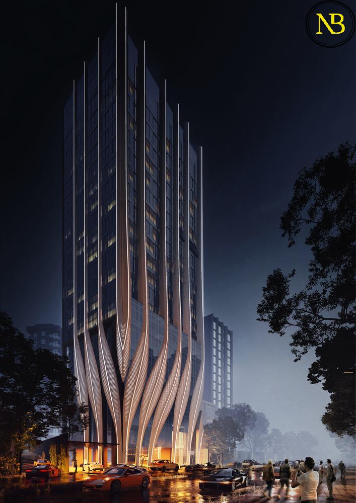 اخبار معماری، بازسازی ستاد ID Origins در مرکز شهر بمبئی توسط Studio Symbiosis