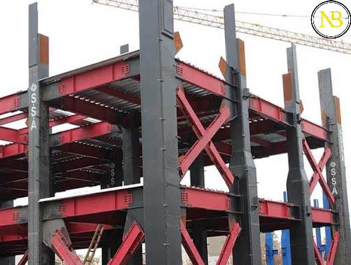 سازه های فولادی | مزایا و معایب سازه های فولادی | روش های طراحی سازه های فولادی | اجزای سازه های فولادی | انواع سازه های فولادی | اجرای سازه های فولادی