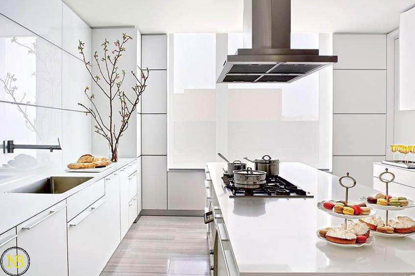 اصول طراحی آشپزخانه طراحی کابینت آشپزخانه  نکات مهم در طراحی کابینت آشپزخانه معماری