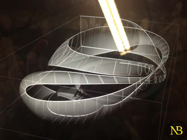معماری مدرن سالن موسیقی باخ زاها- حدید