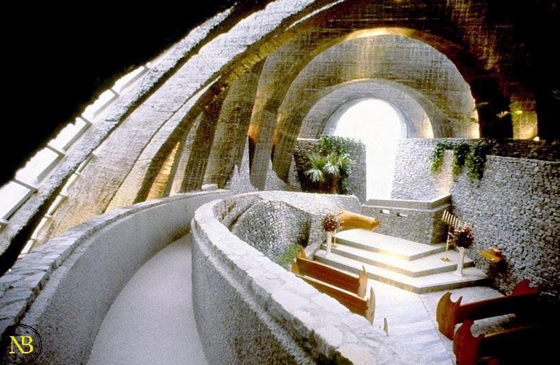 کلیسای سنگی ژاپن | اخبار معماری | تازه های معماری | سایت اخبار معماری پروسه | معماری روز دنیا | اخبار معماری ایران و جهان