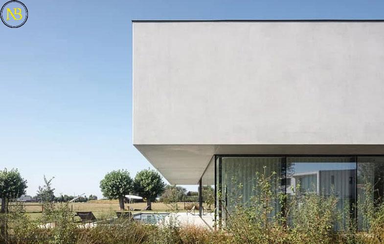اخبار معماری، نمونه موفق یک خانه مسکونی در بلژیک به سبک مینیمالیسم