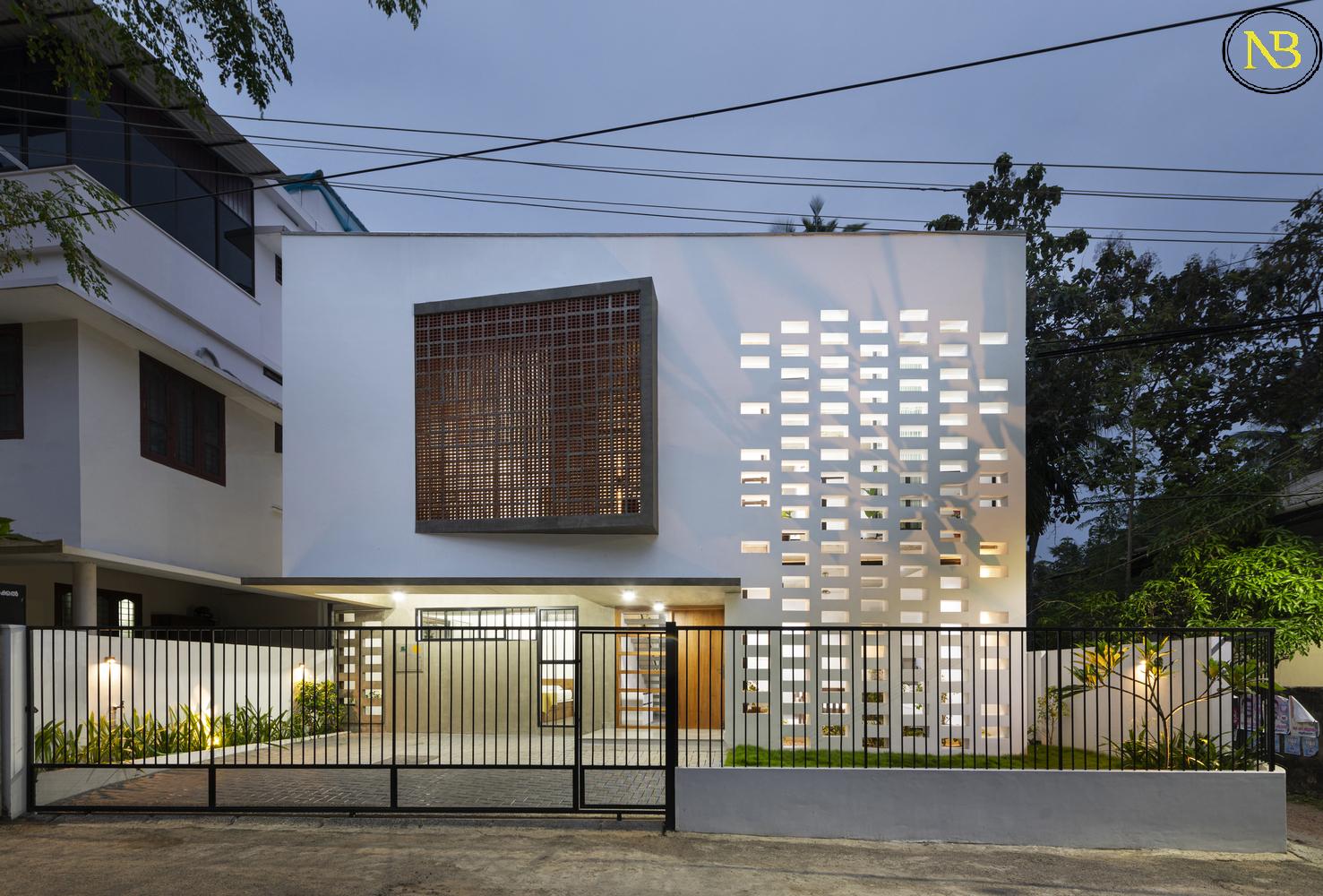 اخبار معماری، معرفی خانه سفید در هند