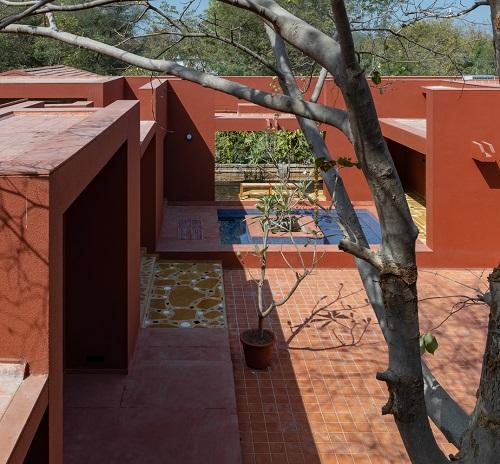 نمونه طراحی و معماری ساختمان مسکونی