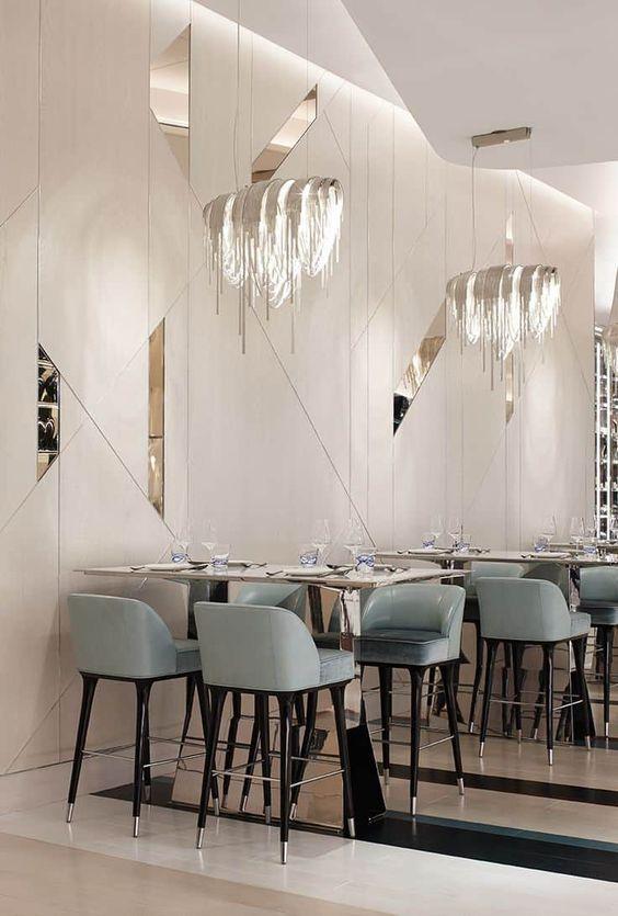 دکوراسیون و سبک کلاسیک در رستوران