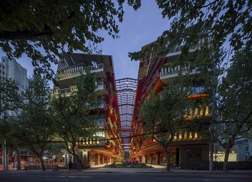 اخبار معماری، طراحی و معماری ساختمان اداری، بازرگانی در چین ۲۰۲۱