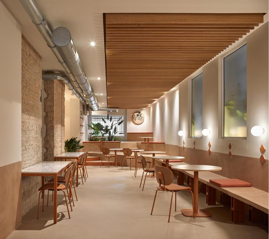 اخبار معماری، طراحی داخلی رستوران در اسپانیا ۲۰۲۰