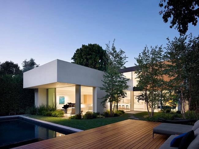 اخبار معماری،طراحی خانه مسکونی، دکوراسیون داخلی، گرین وال و روف گاردن