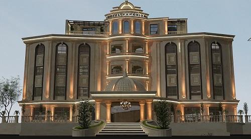 طراحی داخلی هتل در مشهد