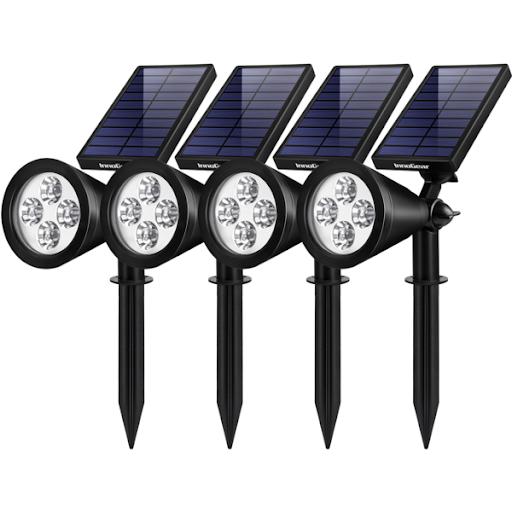 چراغ های خورشیدی و انواع مدل های آن